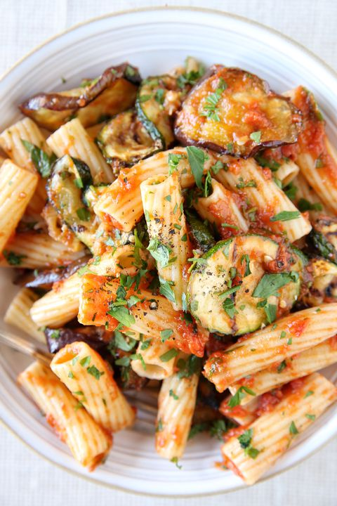 Kepti Vegetable Rigatoni Recipe