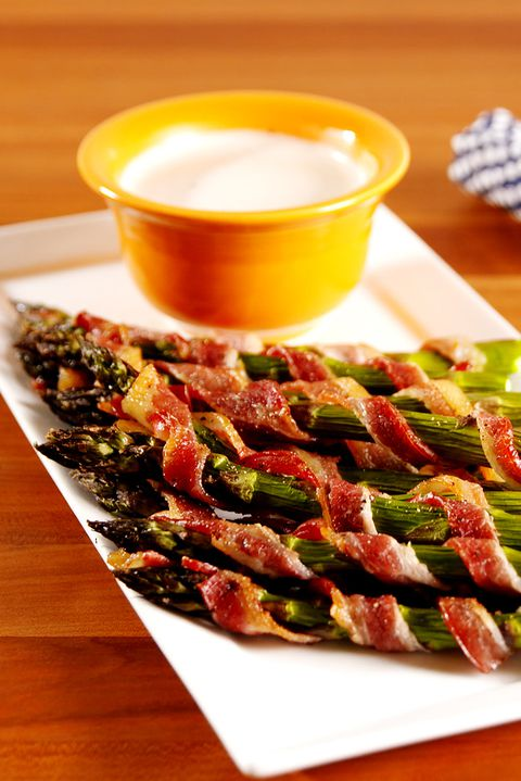 Bacon Asparagus Dippers Vertical
