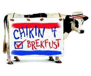 chick-fil-a free breakfast during labor day week