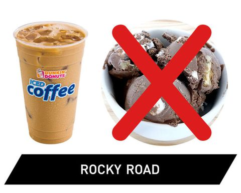 Dunkin' Donuts Iced Coffee Ranked - Rocky Road