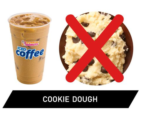 Dunkin' Donuts Iced Coffee - Cookie Dough