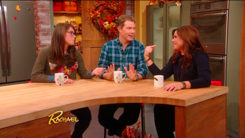 Bobby and Sophie Flay Talk to Rachael Ray