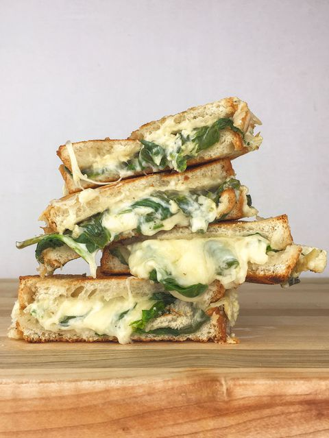 Bayam Artichoke Grilled Cheese Recipe