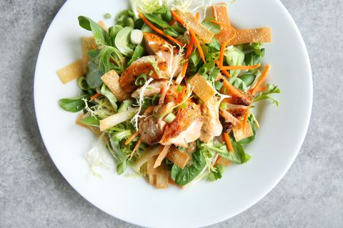ごま Ginger Salmon Salad Recipe