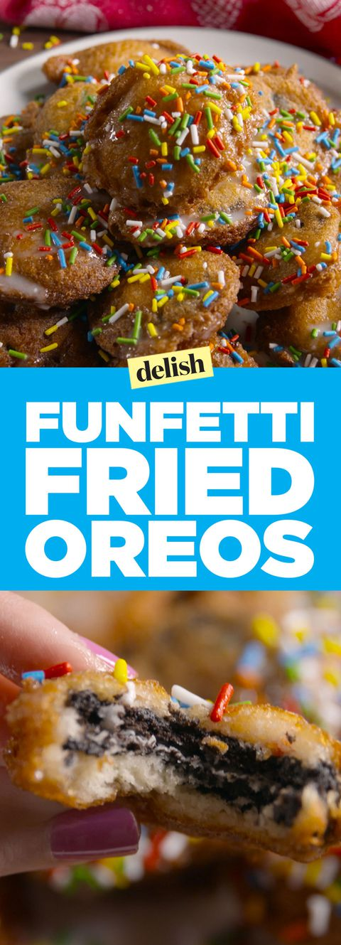 Funfetti Fried Oreos Pinterest