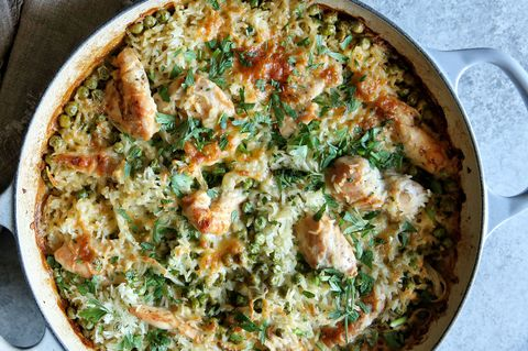 Cheesy Baked Chicken and Rice Recipe