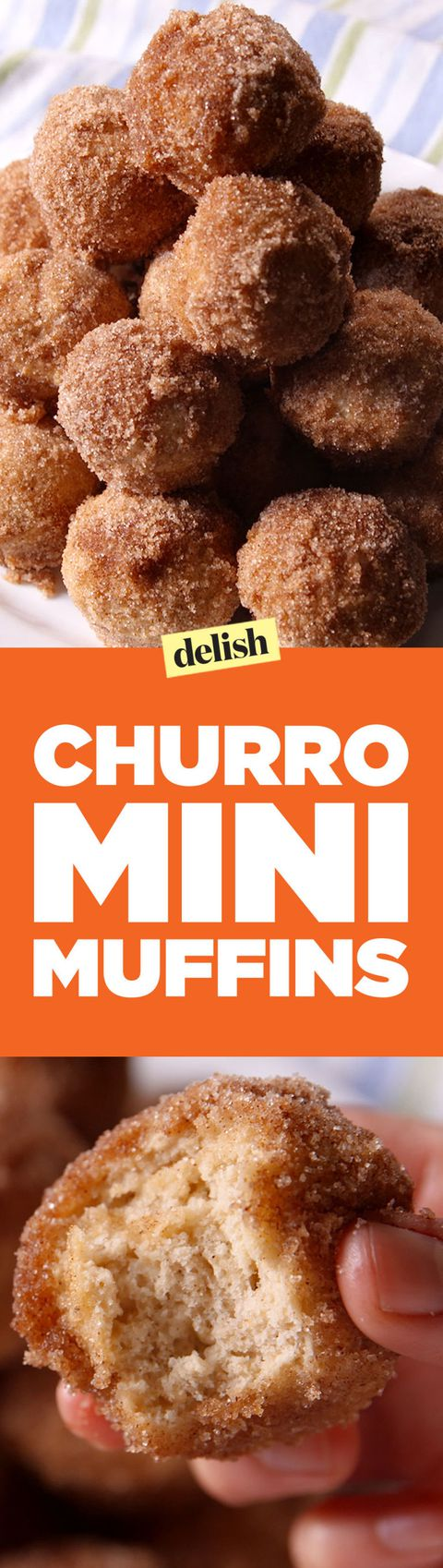 Churro Mini Muffins Pinterest