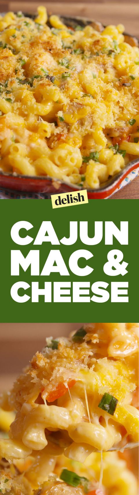 Cajun Mac & Cheese Pinterest