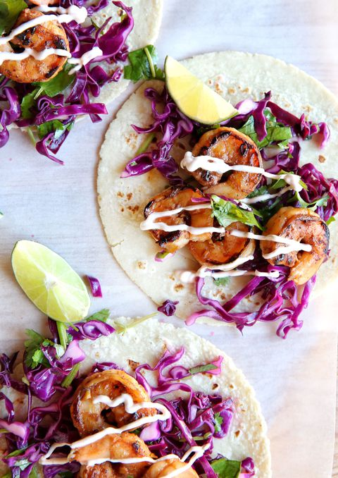 Sriracha Shrimp Tacos Recipe