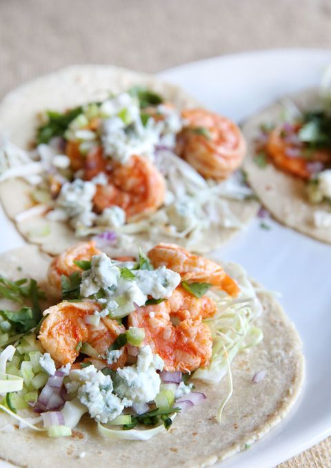 bufalo Shrimp Tacos Vertical
