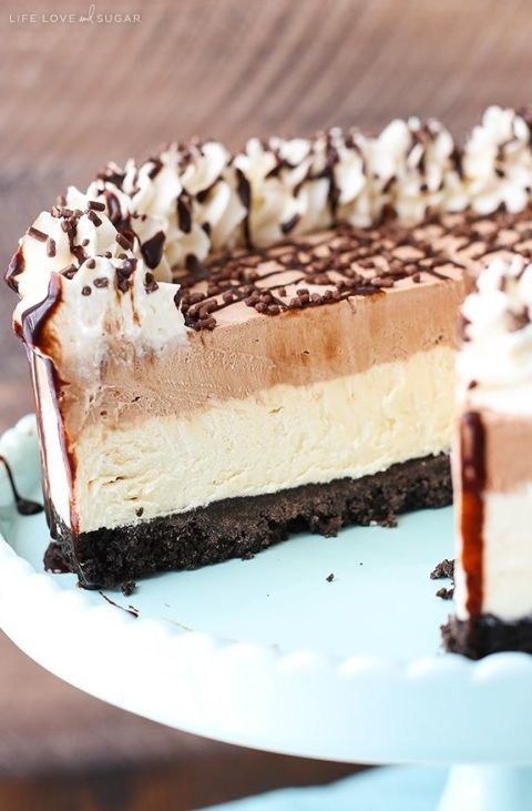Beku Irish Cream Mousse Cake