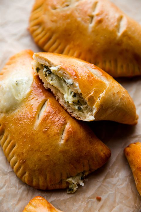 Panas Cheese and Spinach Stuffed Pockets Vertical