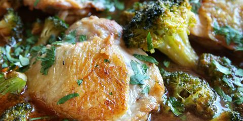 Honey-Sriracha Chicken with Broccoli Recipe